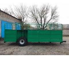 Прицеп для перевозки скота ТПС-6У
