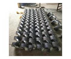 Шнековые спирали Витки шнека, Производство шнеков