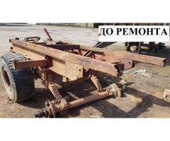 Ремонт тракторных прицепов