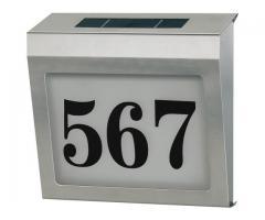 Номер дома с подсветкой Solar Power SH 4000 IP44