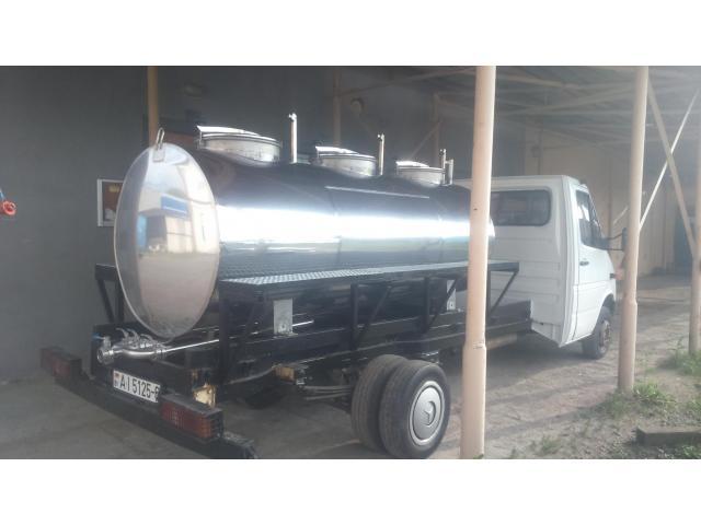 Ёмкость-термос для транспортировки молока