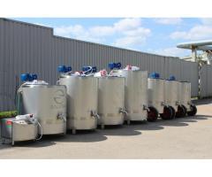 ПАСТЕРИЗАТОРЫ МОЛОКА (от 50 до 1000 литров)